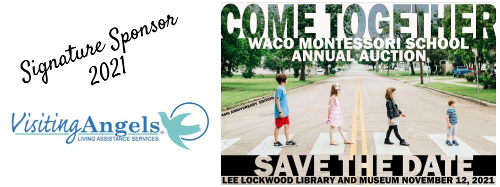 Waco Montessori Auction 2021